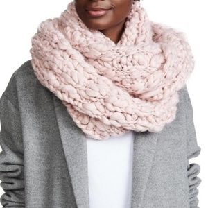 Free People | Pink Dreamland Chunky Infinity Scarf